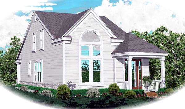 Cape Cod House Plan 46364 Elevation