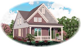 Country House Plan 46367 Elevation