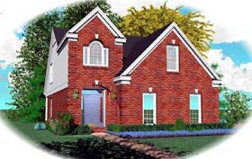 Traditional House Plan 46380 Elevation