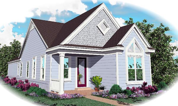 Traditional House Plan 46390 Elevation
