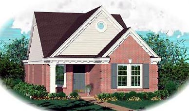 Ranch House Plan 46391 Elevation