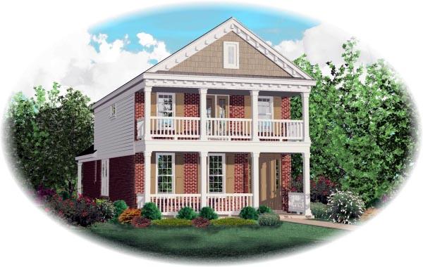 Craftsman House Plan 46392 Elevation