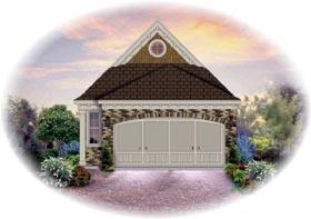 House Plan 46393 Elevation