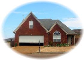 House Plan 46412 Elevation