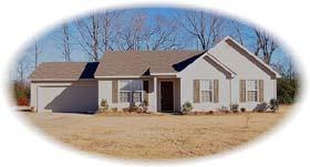 House Plan 46420 Elevation