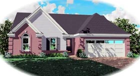 Traditional House Plan 46428 Elevation