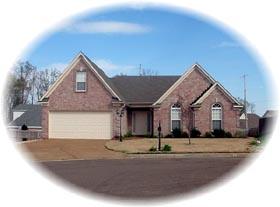 House Plan 46440 Elevation