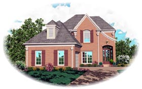 Victorian House Plan 46451 Elevation