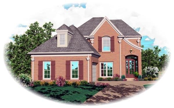 Victorian House Plan 46451 Elevation