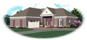 Traditional House Plan 46454 Elevation
