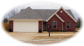 Traditional House Plan 46458 Elevation
