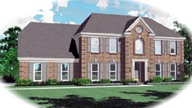 Traditional House Plan 46469 Elevation