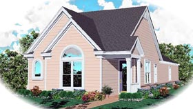 Traditional House Plan 46472 Elevation