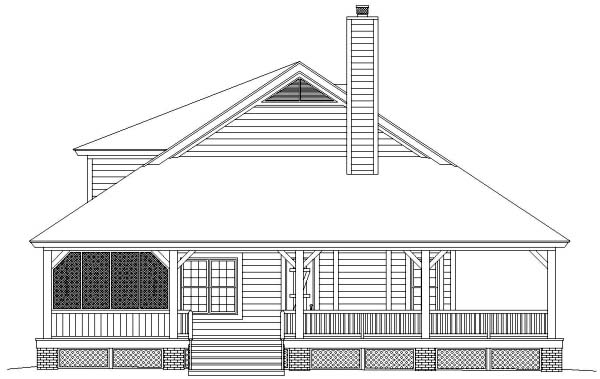 Country House Plan 46476