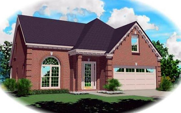 Traditional House Plan 46480 Elevation