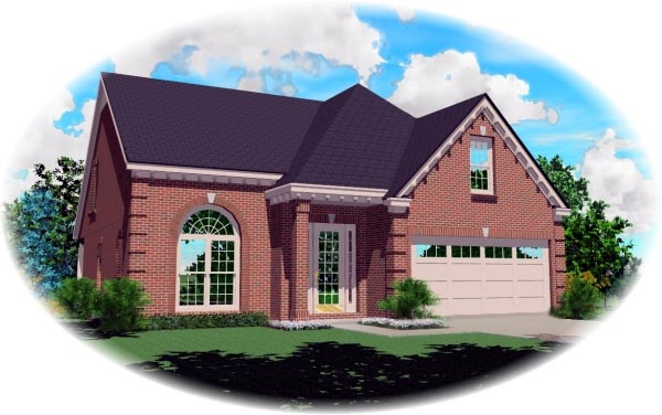 Traditional House Plan 46481 Elevation