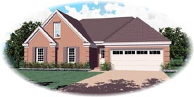Traditional House Plan 46482 Elevation