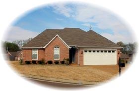 House Plan 46484 Elevation