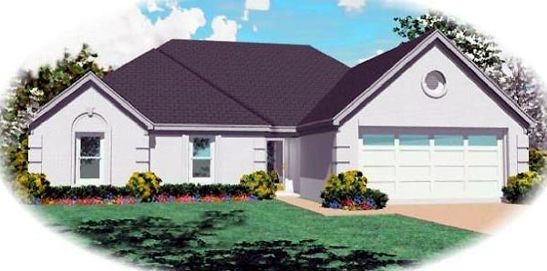 Southern House Plan 46489 Elevation