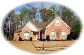 House Plan 46490 Elevation