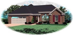 House Plan 46491 Elevation