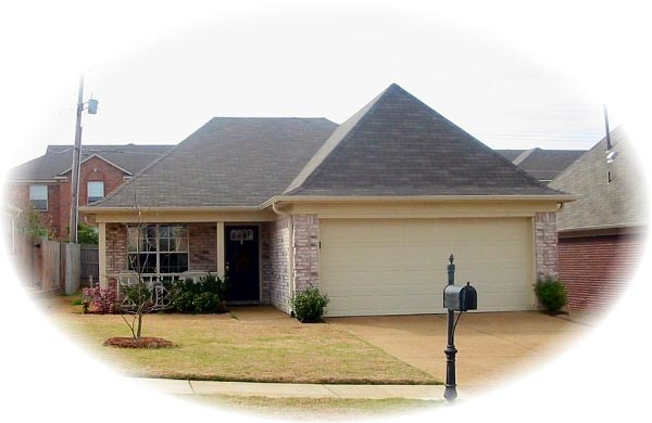 House Plan 46492 Elevation