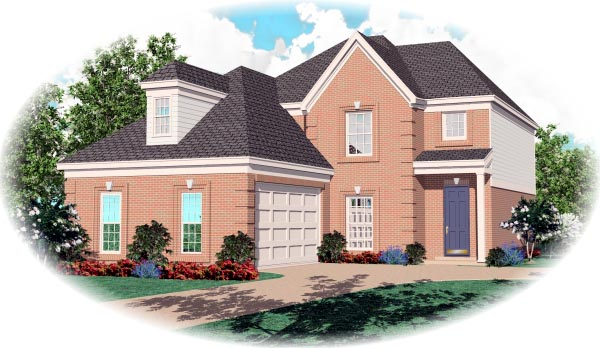 Traditional House Plan 46501 Elevation