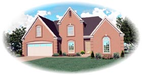 Traditional House Plan 46502 Elevation