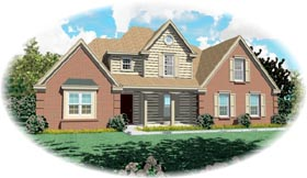 Traditional House Plan 46503 Elevation