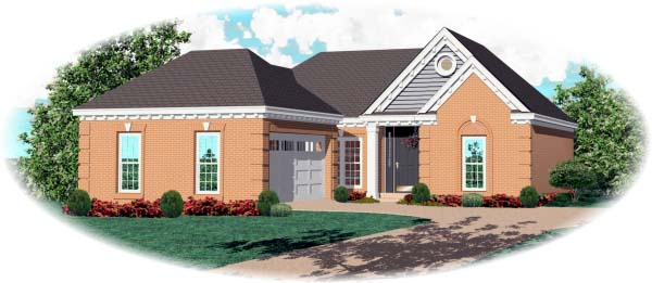 Traditional House Plan 46511 Elevation