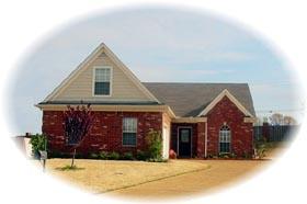 House Plan 46515 Elevation