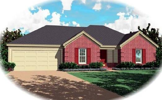 Southern House Plan 46517 Elevation
