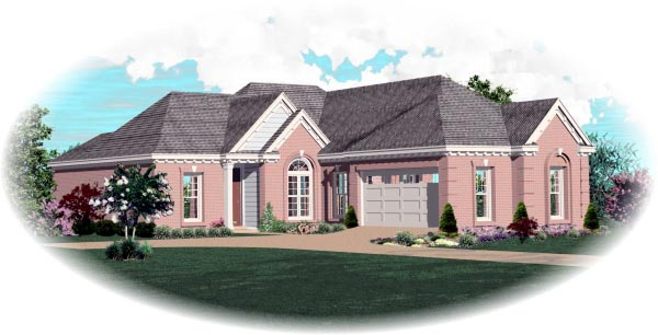 Florida House Plan 46519 Elevation