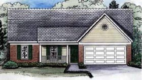 Traditional House Plan 46521 Elevation