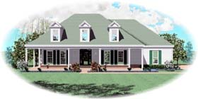 House Plan 46524 | Cape Cod Style Plan with 2110 Sq Ft, 3 Bedrooms, 3 Bathrooms, 2 Car Garage Elevation