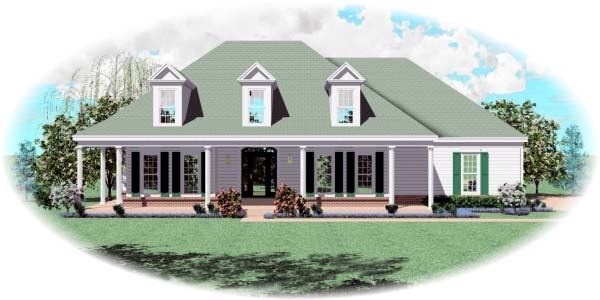 Cape Cod House Plan 46524 Elevation