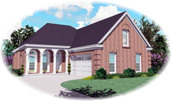 Traditional House Plan 46527 Elevation