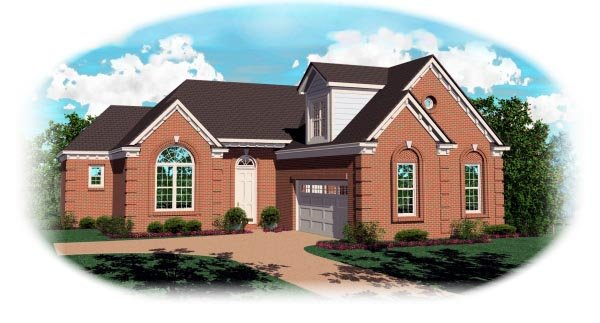 Traditional House Plan 46534 Elevation