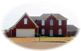 House Plan 46540 | Traditional Style House Plan with 1937 Sq Ft, 3 Bed, 3 Bath, 2 Car Garage Elevation