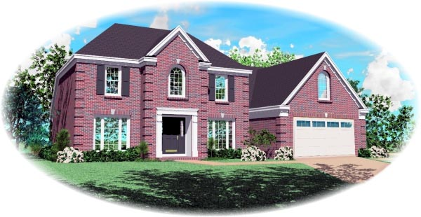 Traditional House Plan 46550 Elevation