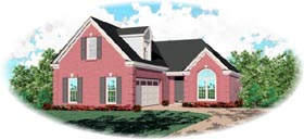 Traditional House Plan 46555 Elevation