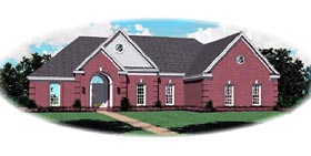 Traditional House Plan 46581 Elevation