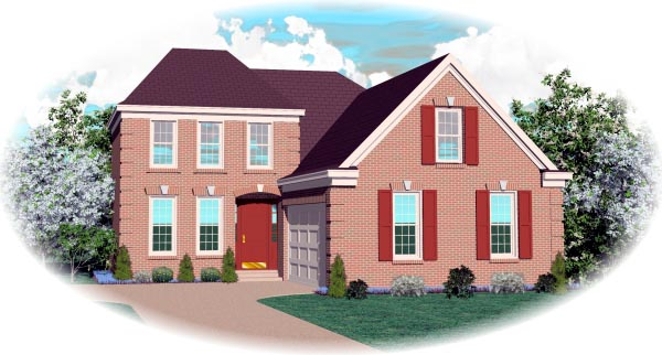 Traditional House Plan 46583 Elevation