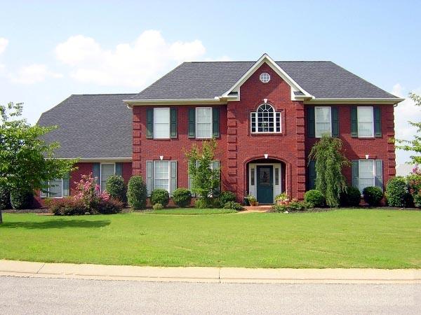 House Plan 46606 Elevation