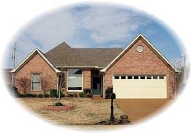 House Plan 46620 Elevation