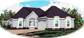 Traditional House Plan 46623 Elevation