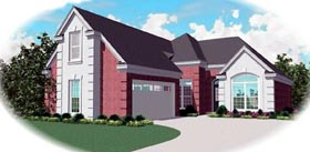Traditional House Plan 46626 Elevation