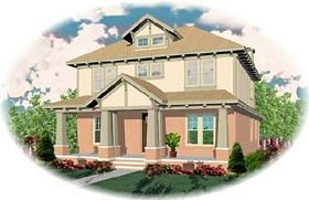Craftsman House Plan 46628 Elevation