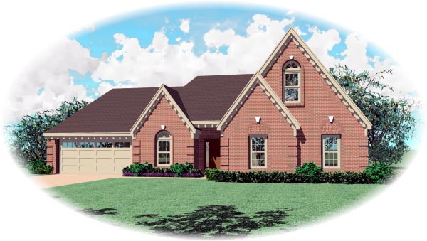 Traditional House Plan 46631 Elevation