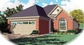 Traditional House Plan 46633 Elevation
